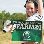 \u201cI'm Izzy and I am 11. I think it's cool we have cows and sheep and I'm proud that we provide food to other families. I've been in the eco committee at school this year and I like that the way we farm makes better soil for worms and provides homes for bees & butterflies.\u201d #Farm24