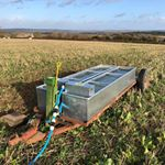 I'd love to claim this mobile trough design and construction as mine but the estate's farm manager has to take all the credit. Designed for rotational grazing, supplying two adjacent paddocks split by electric and it has a jack to level out on slopes. Genius. #farming #farmingfamily #farm365 #foodforthought #feedthesoul #soilhealth #regenerativeagriculture #pasturefed #grassfed #grassfinished #nativebreed #grassfedlamb #grassfedbeef #lambbox #beefbox #hogget #britishlamb #britishbeef #meatbox #buylessbuybetter #goodfood #healthymeat #cotswoldfoodie #slowfood #ethicalfood #tellyourstory #grazierlife #longhorn #longhornbeef #britishwhitecattle