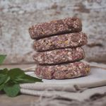 All our mutton boxes have now sold, but our gourmet mutton burgers with mint and apricot are available to buy from @bruern_farms Whilst you're there, you can pick up our Gloucester Old Spot sausages, some of their delicious #venison, various other local treats - AND your Christmas tree, which they grow on various sites around the estate. #shoplocalthischristmas (Photo credit @kirstie_young_photography